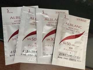 Sofina ALBLANC day emulsion II / III