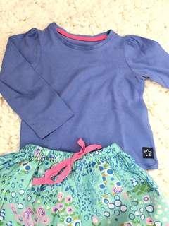 Mother Care blue shirt (1-2yr)