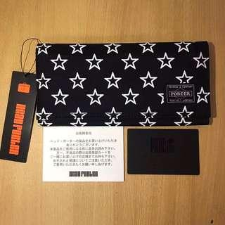 Porter Yoshida Wallet - All Black