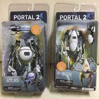 PORTAL2- Atlas & P-body