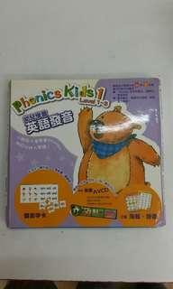 小童英語學習書籍連VCD
