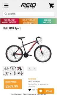 Reid Mountain Bike