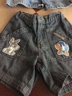 Looney Tunes denim shorts