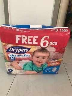 🚚 Drypers Wee Wee Dry size m