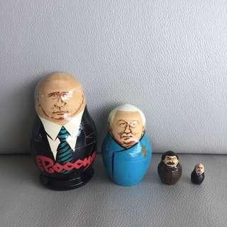 Politician Russian Dolls 俄羅斯娃娃