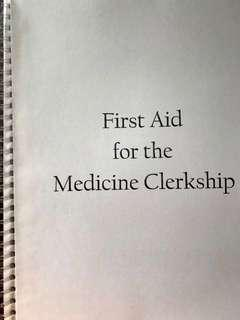 (Medical Book) First Aid for the Medicine Clerkship