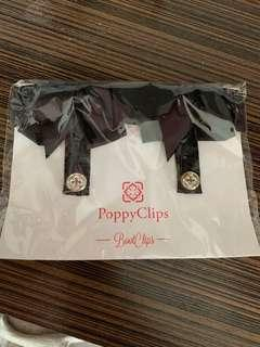 Poppy clips boot clips