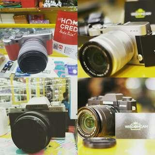 Kredit mirrorless Fujifilm series dp min 10% aja