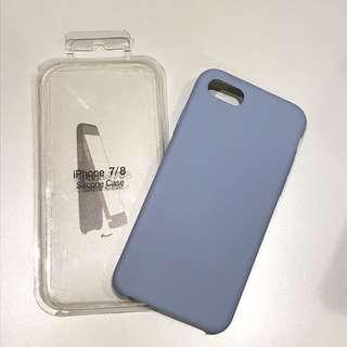 🚚 iPhone 7/8 灰藍軟邊保護殼
