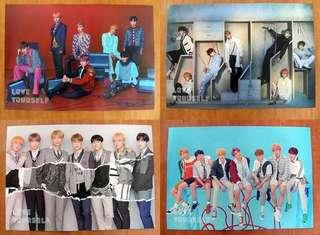 BTS Answer ~ posters 4 ver / Ready stocks