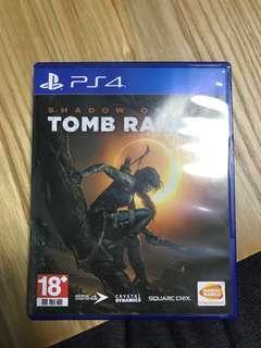 Tomb raider PS4 中文版 蘿拉