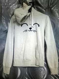 Terranova Sweater Cat Hoodie
