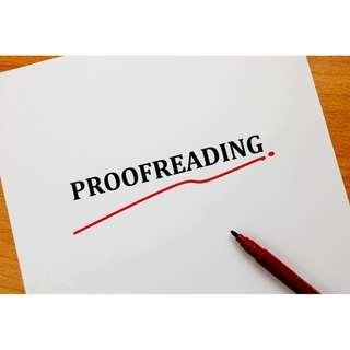 Proofreading Service at cheapest rates