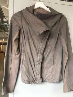 AllSaints Leather Jacket 真皮皮䄛
