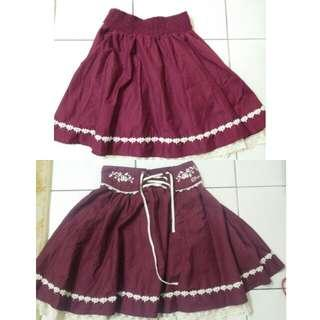 Fluffy Lolita skirt