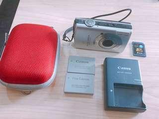 🚚 Canon SD870 IS (附電池、充電器、記憶卡、手腕帶、相機保護殼)