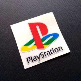 Playstation Logo Sticker Decal Luggage Laptop Skateboard 3M