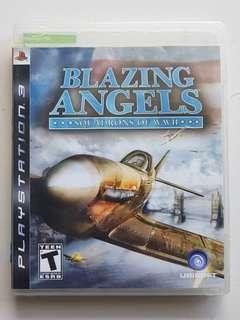 Ps3 Blazing Angels Squadrons of WWII Game