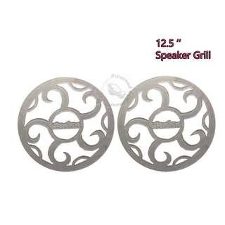 CAR AUDIO SPEAKER GRILL 12.5 INCH COVERS PAIR (CLARION)