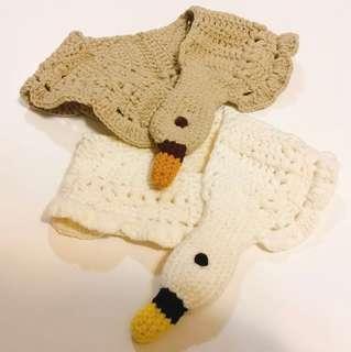 mand made小童可愛圍巾