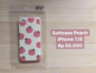 Softcase Peach iPhone 7/8