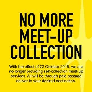 No More Meet-Up Self Collection / We are on PAYNOW.