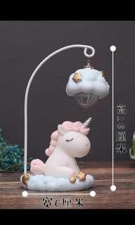 Unicorn mini light lamp