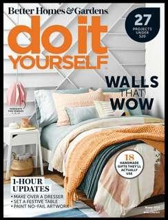 Do It Yourself - Winter 2018 | English | 108 pages | True PDF | 15.0 MB