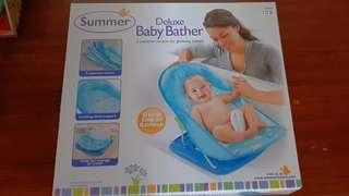 Deluxe Baby Bather blue