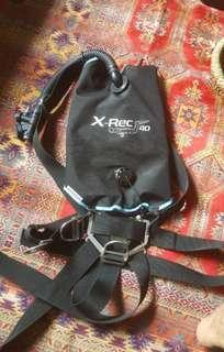 Sidemount  scuba Diving gears BCD