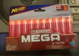 Nerf N strike mega darts 10pcs
