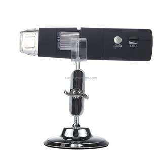 50X~1000X Magnifier HD Image Sensor 1920x1080P USB WiFi Digital Microscope with 8 LED & Professional Stand