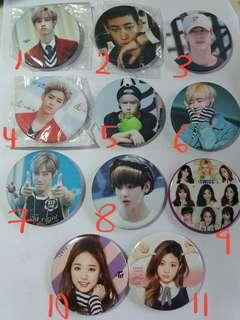 Kpop Badges