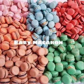 Baby macaron mix isi 33pcs