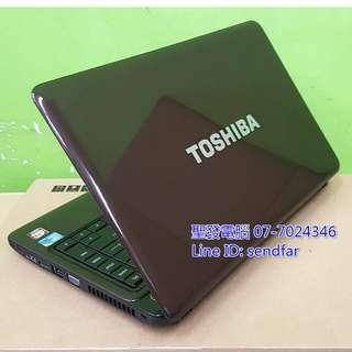 🚚 TOSHIBA L630 i3-350M 4G 500G Independent Video Card 13inch laptop ''sendfar second hand'' 聖發二手筆電