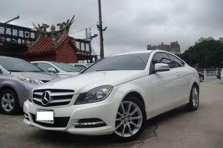 2012 M-Benz C-Class Coupe C180
