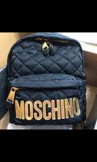 Real moschino small backpack $2000