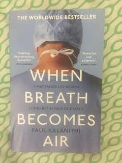 [Free Shipping within MM] When Breath Becomes Air,  Paul Kalanithi, Worldwide bestselling autobiography, Goodreads people choice award 2017