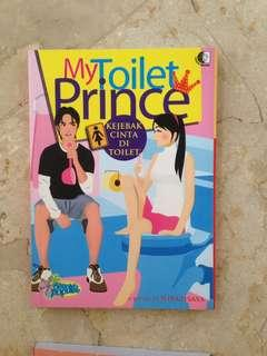 Novel My Toilet Prince