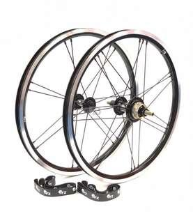 ORZ 3s lightweights wheel set for Brompton