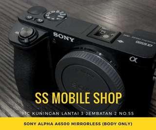Sony Alpha A6500 Mirrorless (Body Only) Kredit Dp Murah