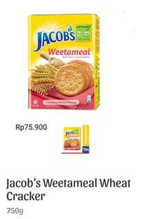 Jacob:s Weetameal Wheat Cracker (750g)