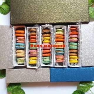 Baby macaron 105rb dapat 5box