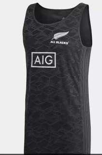 All Blacks Sleeveless Tee (M Size)