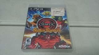 Chaotic Shadow Warriors PS3 Game Games