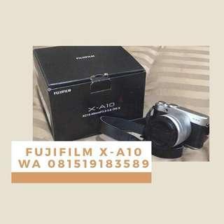 Fujifilm XA10 with 16-50mm f3.5-5.6 OIS II Free SD Card 16GB 24 September 2018–21 October 2018
