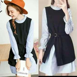 🍃2in1 Corporate Office Long Sleeved Dress