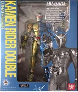 全新日版 幪面超人 SHF Kamen Rider Double w lunatrigger