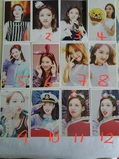 twice nayeon lomo cards