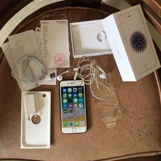 iPhone 6 32Gb ex resmi Fullset 4G LTE mulus